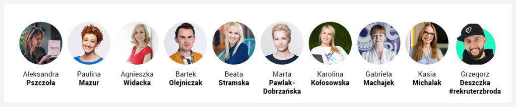 Grono 10 HRowych ekspertów